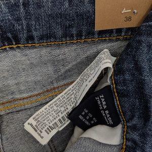 Zara Jeans - Zara distressed skinny jeans- EU 38/UK6/US4